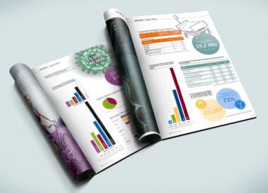 Infografik, Zeitschriften für kma, das gesundheitswirtschaftsmagazin