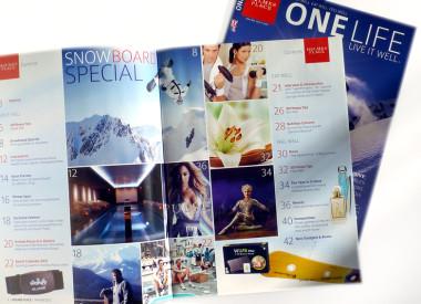 Kundenzeitschrift für Holmes Place, Health Club - Fitness