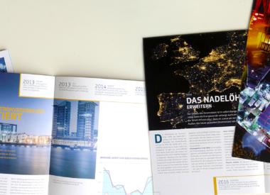 Broschüre für Offshore – Deutschlands Windenergie